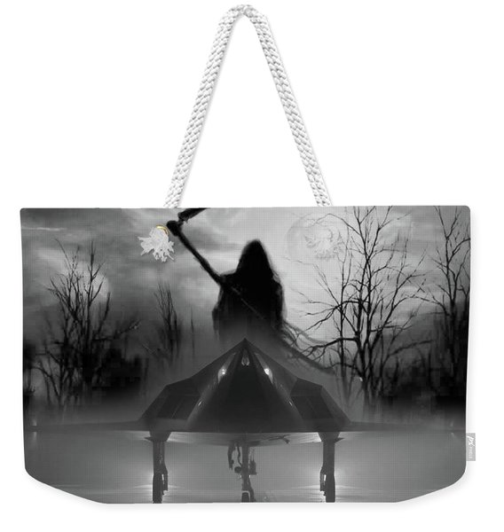 Death Is Coming For You Weekender Tote Bag