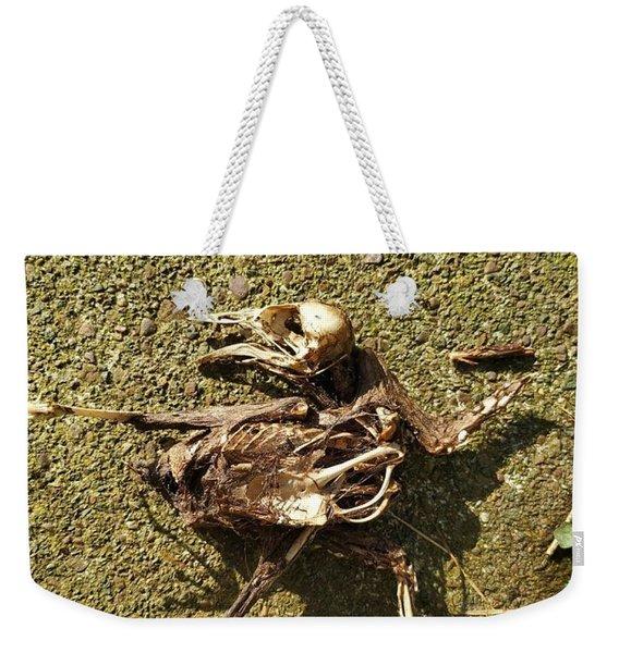 Death Shows Us We Are Nothing But Bones Weekender Tote Bag