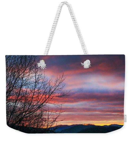 December Dawn Weekender Tote Bag