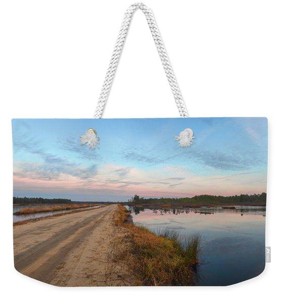 December Sunset At Whitesbog Nj Weekender Tote Bag