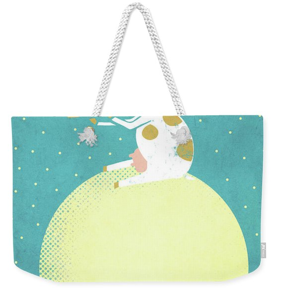 Decided To Stay Weekender Tote Bag