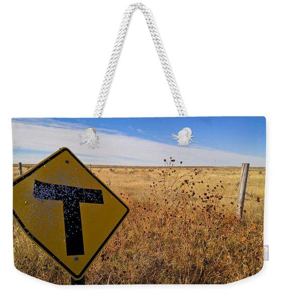 Decision Time Weekender Tote Bag