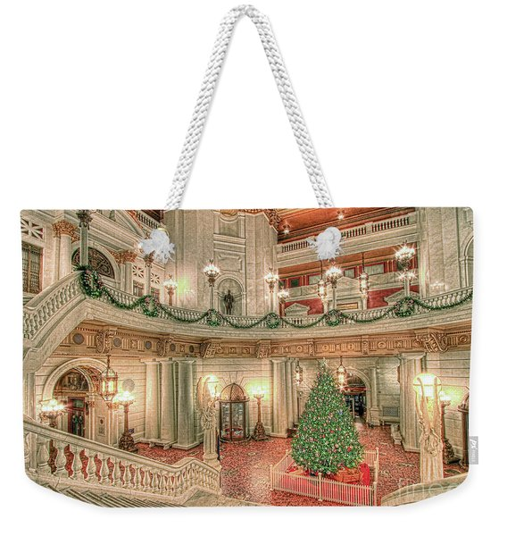 Deck The Hall Weekender Tote Bag