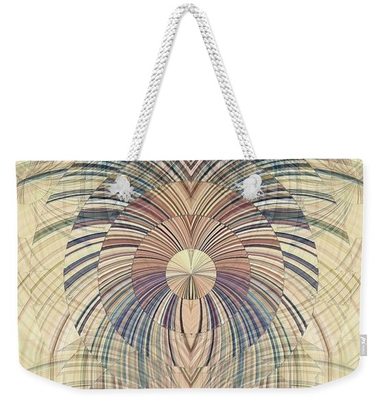 Deco Wood Weekender Tote Bag
