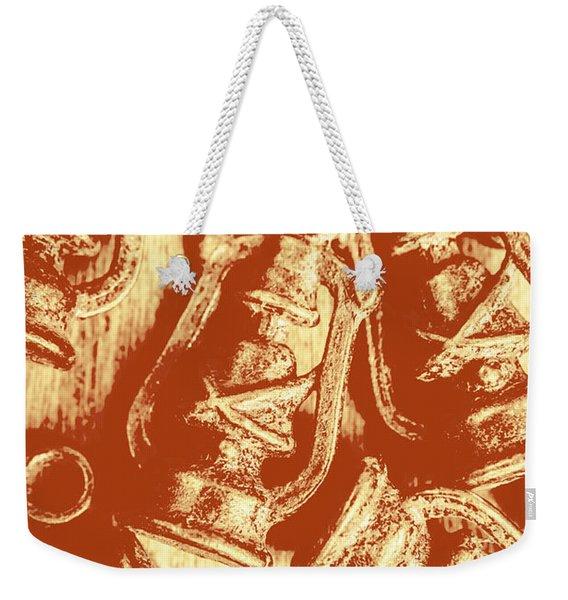 Decoratively Historic Weekender Tote Bag