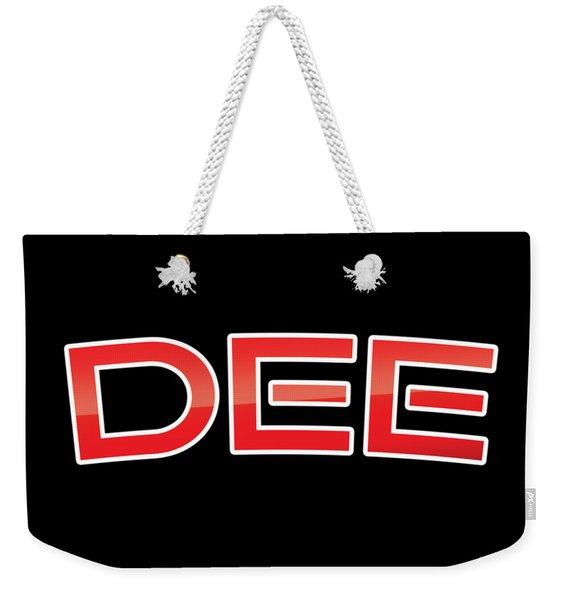 Dee Weekender Tote Bag