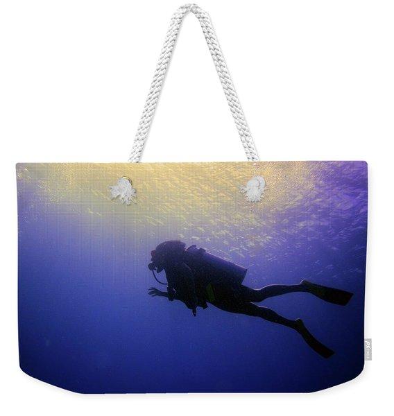 Deep Ascent Weekender Tote Bag