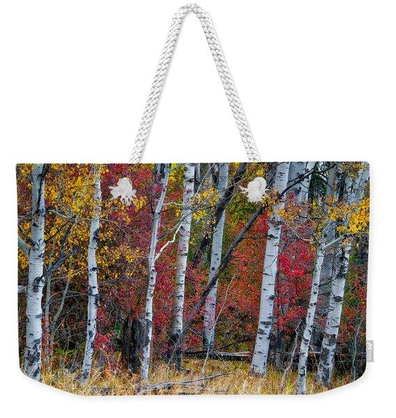 Deep Aspens Weekender Tote Bag