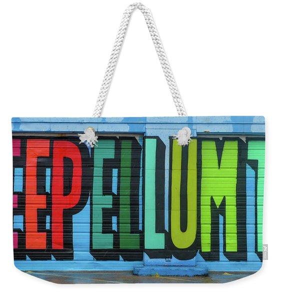Deep Ellum Wall Art Weekender Tote Bag