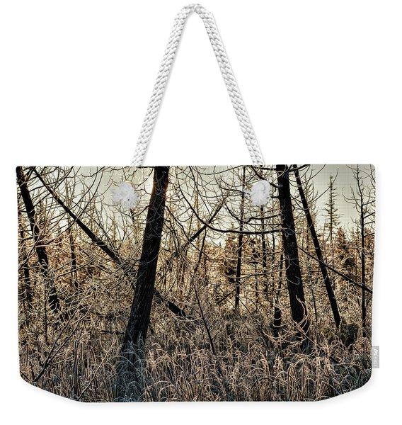 Deep Frost Weekender Tote Bag