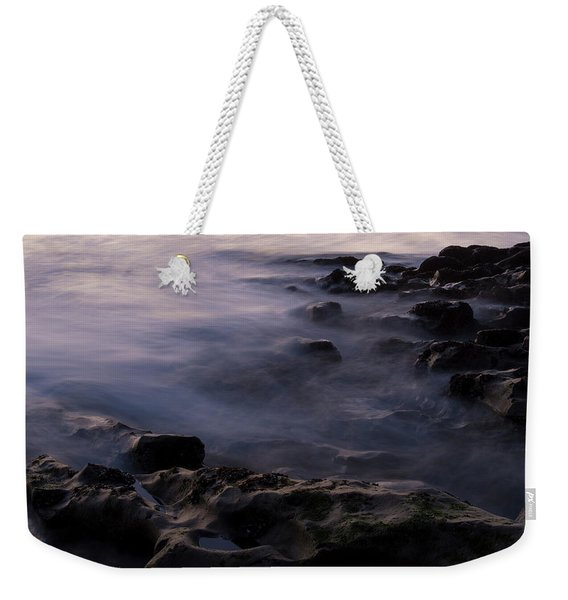 Deep Purple Weekender Tote Bag