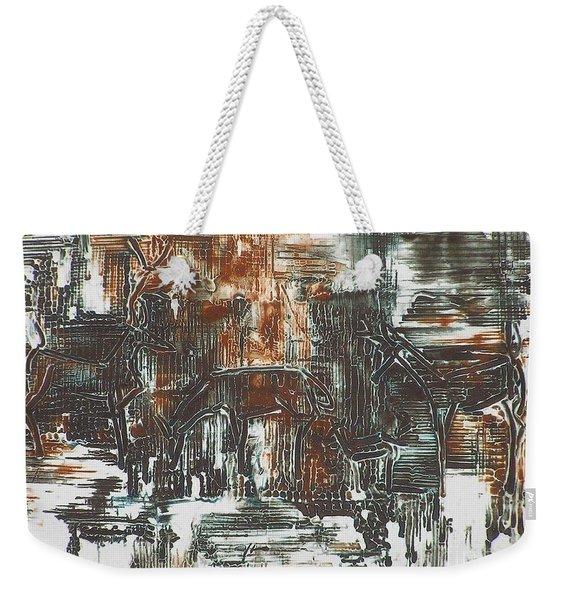 Deer Weekender Tote Bag