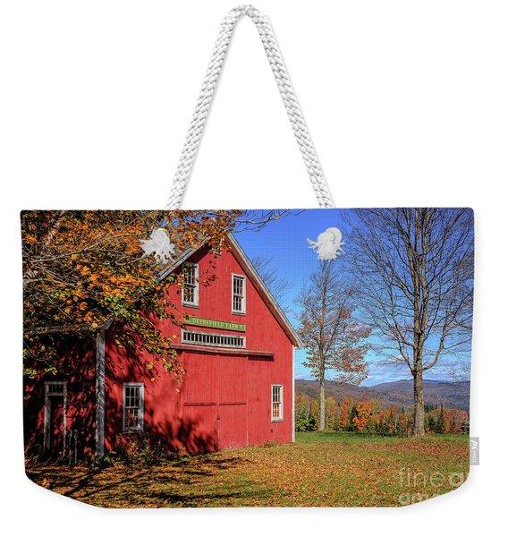 Deerefield Farm Grafton New Hampshire Weekender Tote Bag