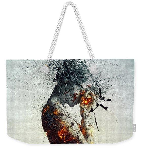 Deliberation Weekender Tote Bag