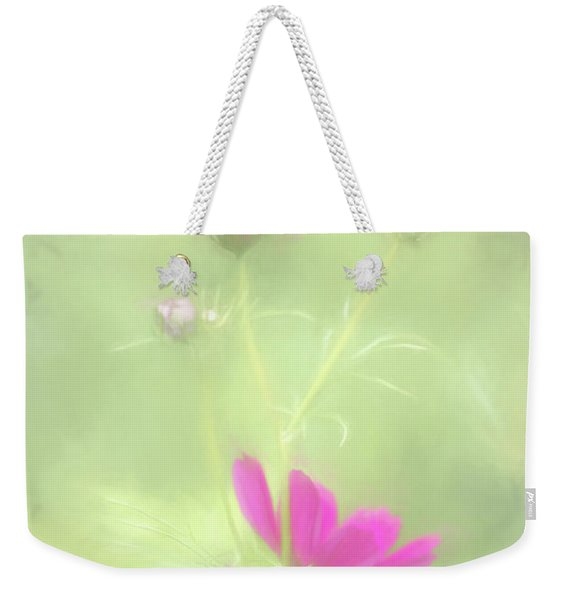 Delicate Painted Cosmos Weekender Tote Bag