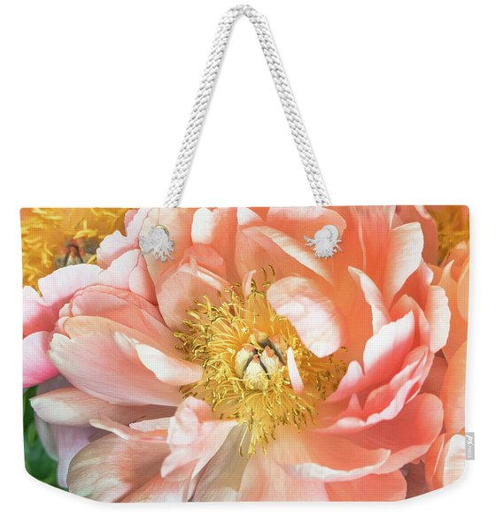 Weekender Tote Bag featuring the photograph Delicate by Robin Zygelman