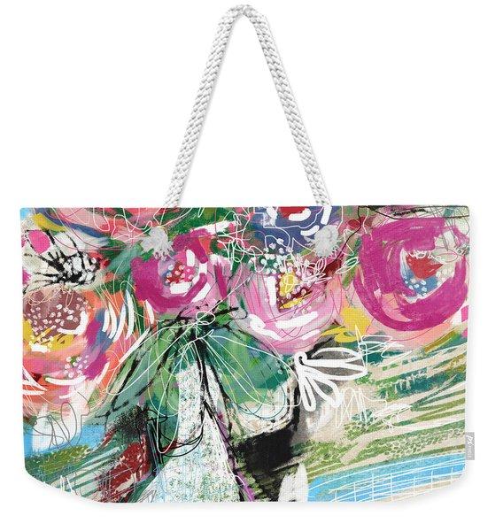 Delightful Bouquet 3- Art By Linda Woods Weekender Tote Bag