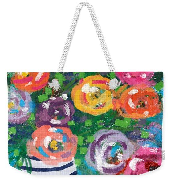 Delightful Bouquet 6- Art By Linda Woods Weekender Tote Bag