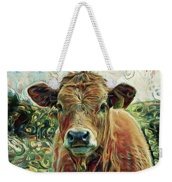 Delilah The Calf Weekender Tote Bag