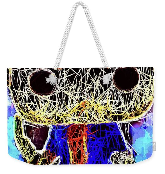 Weekender Tote Bag featuring the mixed media Dean Winchester Supernatural by Al Matra