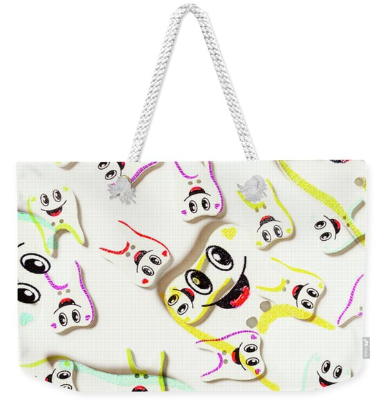Dental Clinic Caricatures Weekender Tote Bag