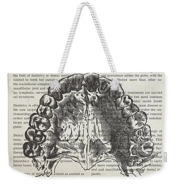 Dentistry Gift Idea Illustration 01 Weekender Tote Bag