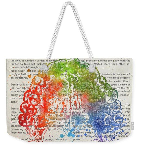 Dentistry Gift Idea Illustration 03 Weekender Tote Bag