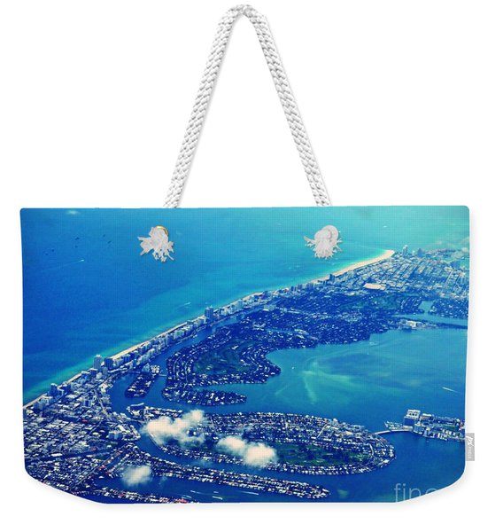 Descending Into Miami    Weekender Tote Bag