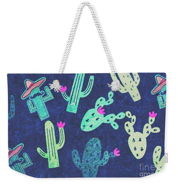Desert Nights Weekender Tote Bag