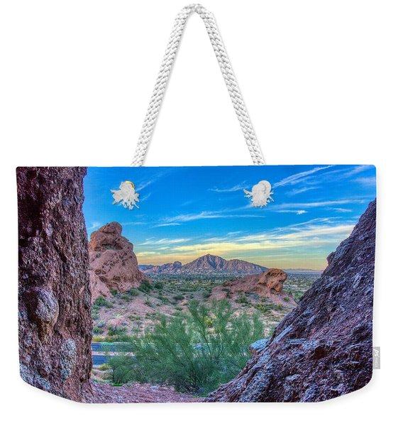 Desert Paradise  Weekender Tote Bag