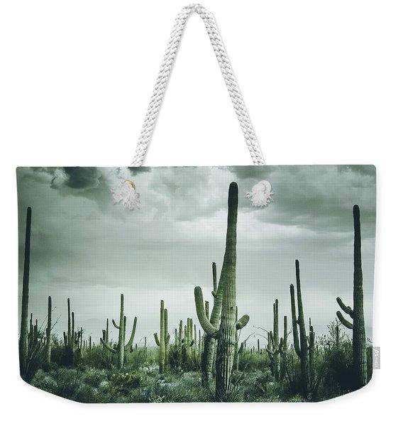 Desert Storm In Arizona Weekender Tote Bag