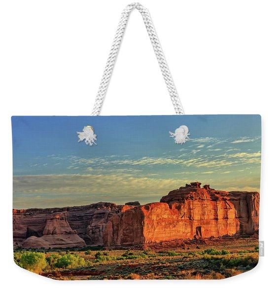Desert Sunrise In Color Weekender Tote Bag