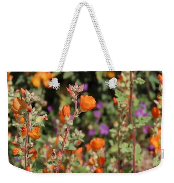 Desert Wildflowers Weekender Tote Bag