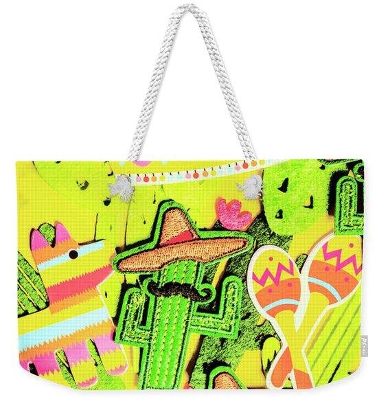 Desertly Decorated Weekender Tote Bag