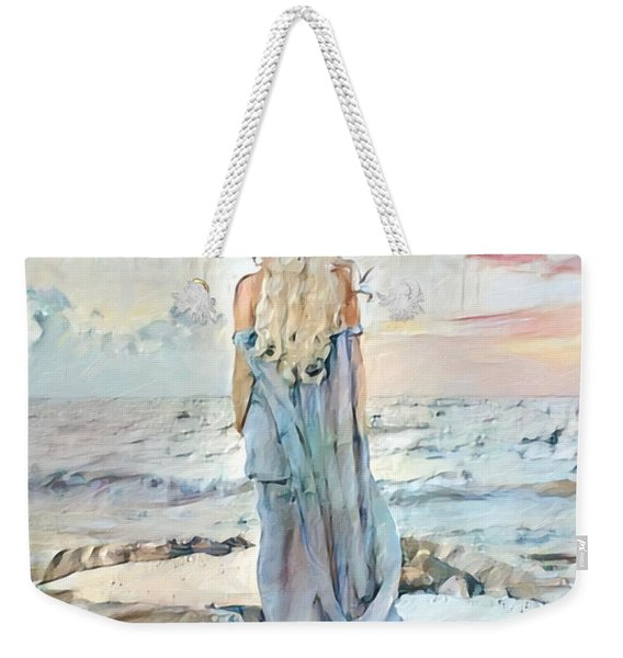 Desolate Or Contemplative Weekender Tote Bag