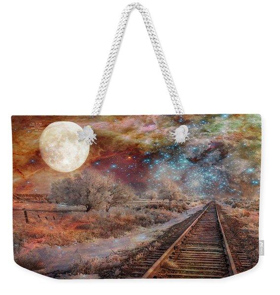 Destination Universe Weekender Tote Bag