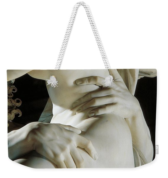 Detail Of The Abduction Of Proserpine, Marble Weekender Tote Bag