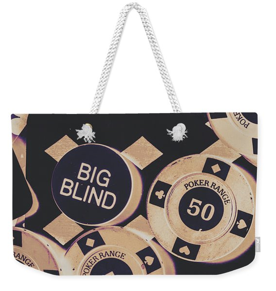 Diamond Odds Weekender Tote Bag