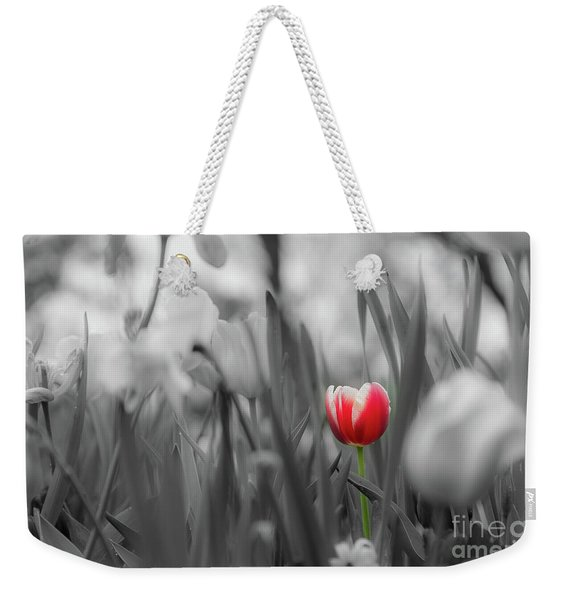 Weekender Tote Bag featuring the photograph Different by Dheeraj Mutha