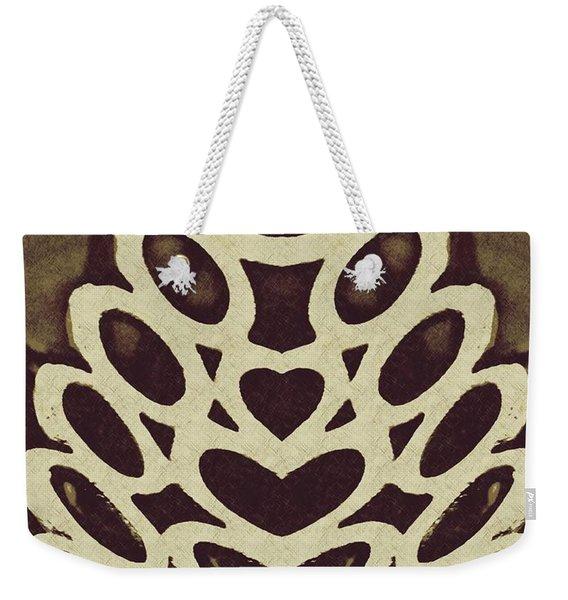 Digital Acorn Weekender Tote Bag