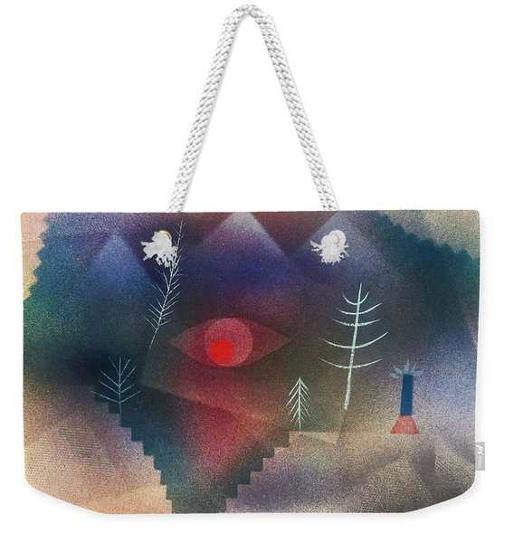 Digital Remastered Edition - Glance At Landscape Weekender Tote Bag