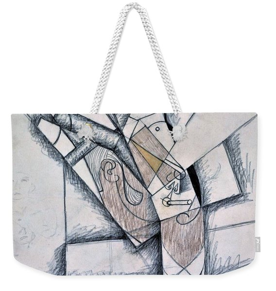 Digital Remastered Edition - The Smoker - Original White Weekender Tote Bag