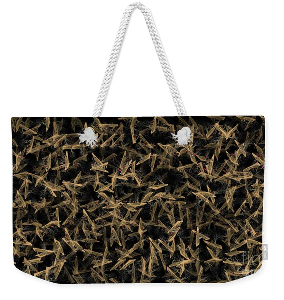 Digital Web Of Daz Weekender Tote Bag