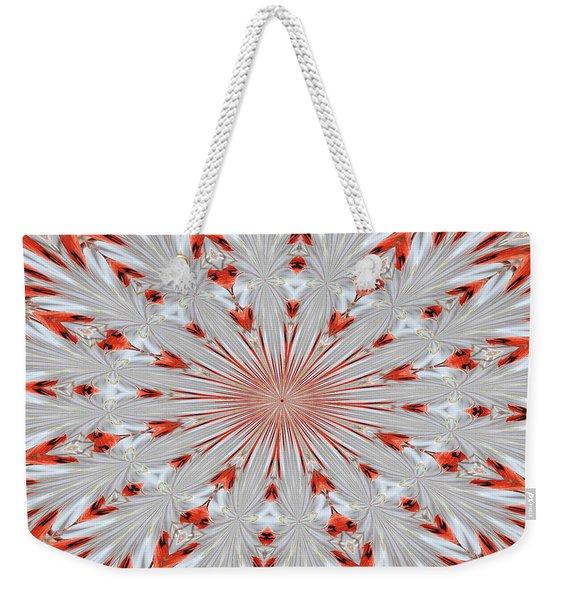 Digitalized Cardinal Weekender Tote Bag