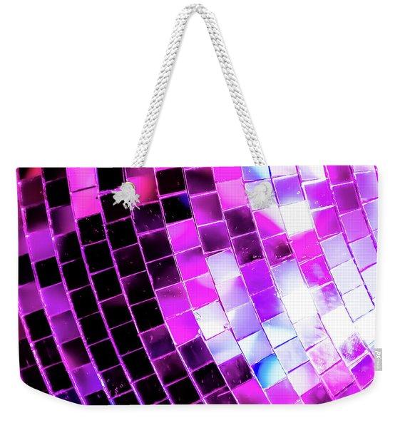 Disco Ball 1 Weekender Tote Bag