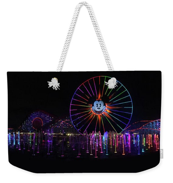 Disney California Panorama Weekender Tote Bag