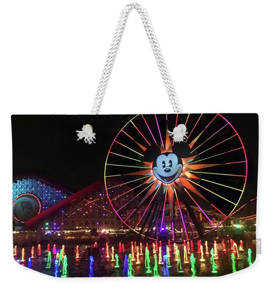 Disney World Ferris Wheel  Weekender Tote Bag