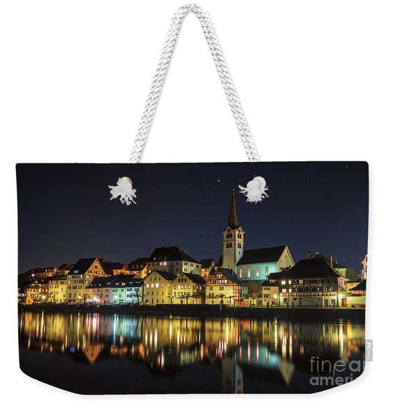 Dissenhofen On The Rhine River Weekender Tote Bag