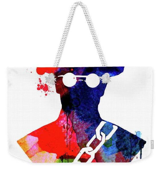 Django Watercolor Weekender Tote Bag