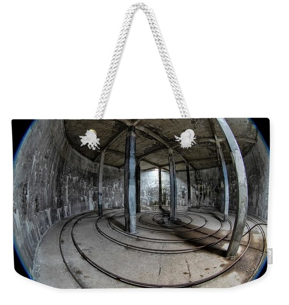 Djupavik Cannery Herring Oil Tank Weekender Tote Bag